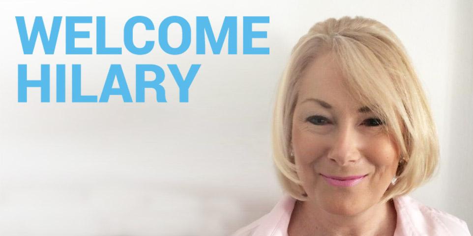 Welcome Hilary
